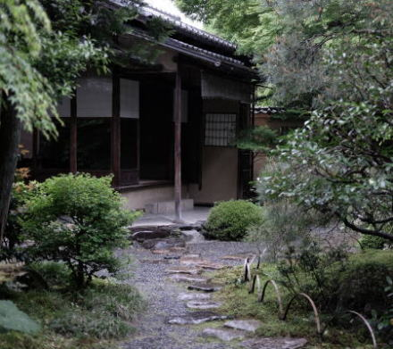 The old house in Kyoto