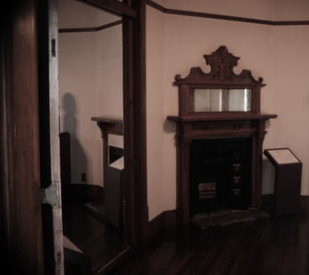 interior of the old missionary house