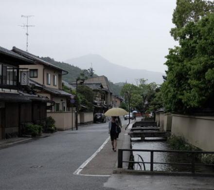 Shake Machi or Shake Street in Kyoto
